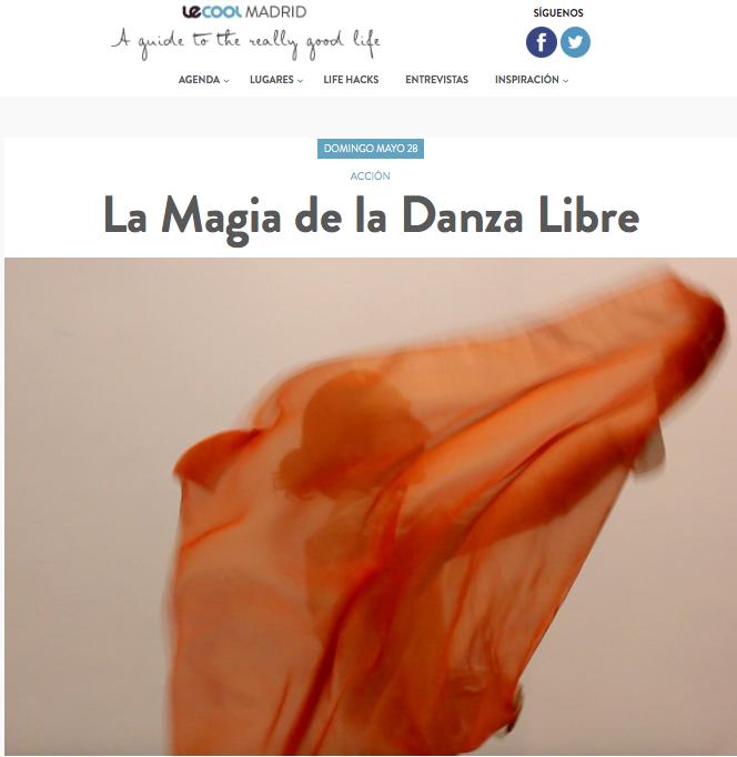 le cool madrid . la magia de la danza libre. 2.Captura de pantalla 2017-05-24 a las 1.03.09